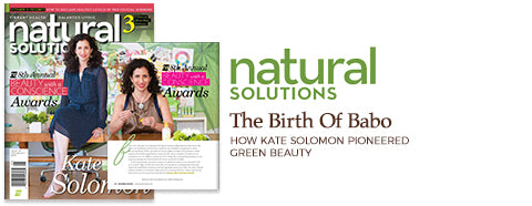 Natural Solutions, Kate on Cover