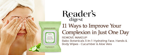 Reader's Digest - 11 Ways to Improve Your Complexion in Just One Day