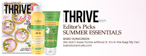 Thrive Magazine - Editor's Picks Summer Essentials