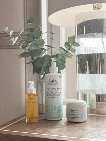 Babo Botanicals products to help with ashy skin