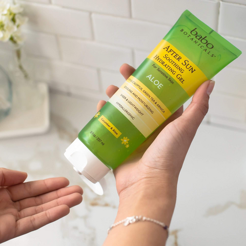After Sun Soothing Hydrating Aloe Gel