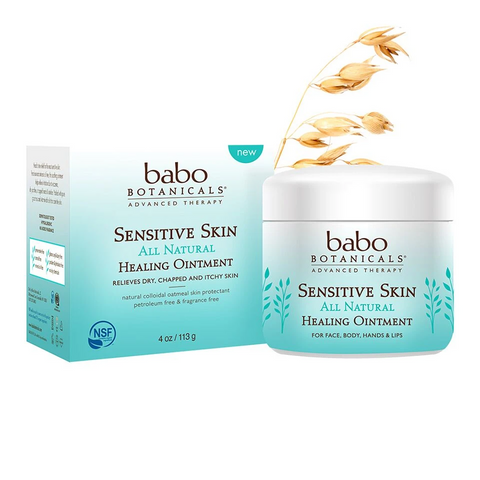 Babo botanicals sensitive skin healing ointment
