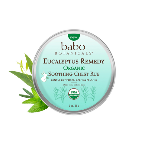 Babo Botanicals's Eucalyptus Remedy Organic Soothing Chest Rub with Eucalyptus benefits