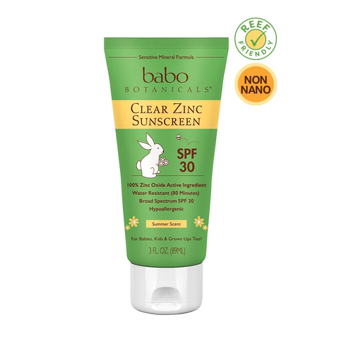 Clear Zinc Sunscreen Lotion SPF 30