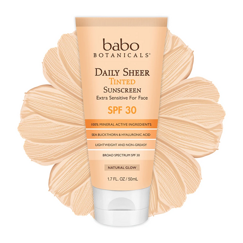 Babo Botanicals's Daily Sheer Tinted Facial Mineral Sunscreen SPF 30