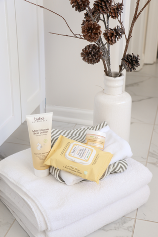 Babo botanicals body products that contain jojoba oil
