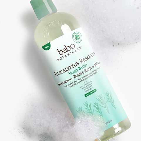 Babo Botanticals Eucalyptus Bubble Bath