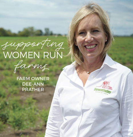 Woman farm owner Dee-Ann Prather
