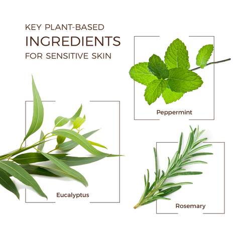 Key Plant ingredients for sensitive skin