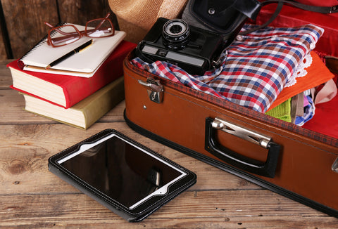 Travel essentials for packing list for vacation