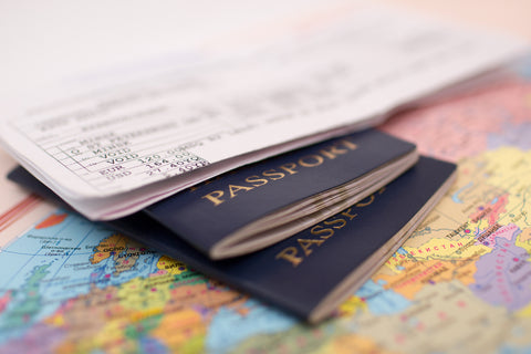 Passports are essential for any packing list for vacation