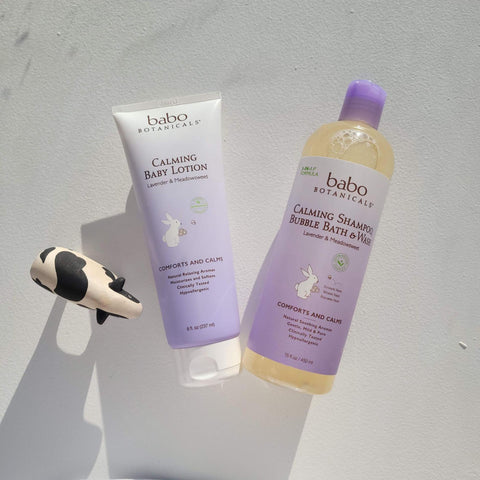 Babo Botanicals Hair products for dry hair