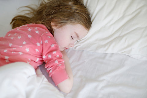 Child sleeping after over coming toddler sleep regression