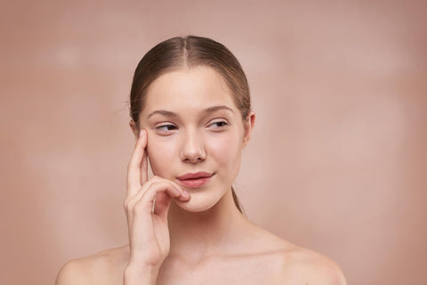 woman worrying about uneven skin tone