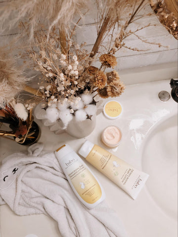 Babo Botanicals skin care products to help with uneven skin tone