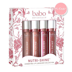 NEW! Nutri-Shine™ Luminizer Vegan Lip Gloss Nude Pearl