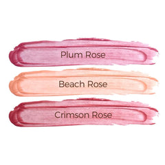 Pretty & Protective Lip Tint Trio SPF 15 - Plum, Beach, Crimson - 0.15 oz.