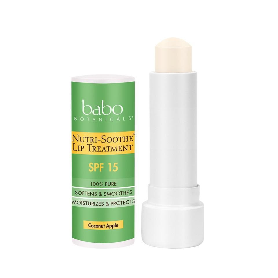 Nutri-Soothe™ SPF 15 Lip Treatment - 0.15 oz.-Lip Care-Babo Botanicals