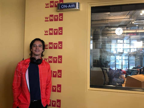 Halston director Frédéric Tcheng at WNYC