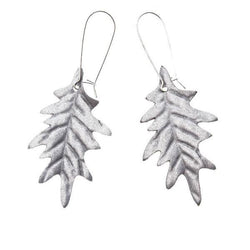 OAK EARRINGS, Silver
