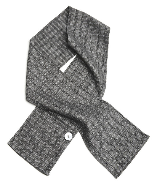 SASH-AY SCARF, Grey Flash -Tweed