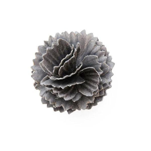 flower boutonniere made of 3M Scotchlite™ Reflective Material military pin fixture