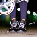 Brompton X Vespertine REFLECTIVE SHOELACES, Grey Flash