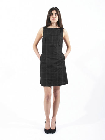 DASH DRESS, Black Flash