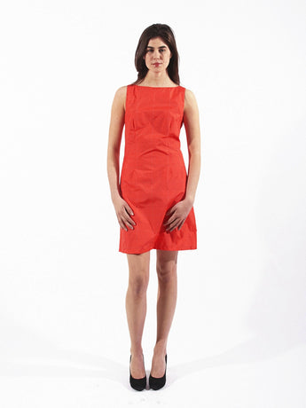 DASH DRESS, Cinnabar Flash