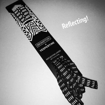 black Reflective shoelaces 45 inches 114 cm long made in USA 3M Scotchlite