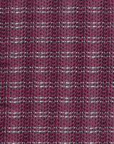 SASH-AY SCARF, Plum Flash Tweed