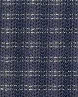 SASH-AY SCARF, Navy Flash Tweed