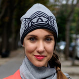REFLECTIVE MERINO HAT, Light Grey