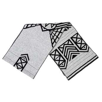 Brompton X Vespertine REFLECTIVE SCARF, Light Grey