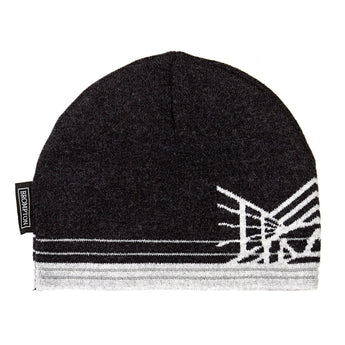 Reflective Merino Hat, Charcoal Black