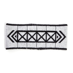 Brompton X Vespertine REFLECTIVE HEADBAND, Light Grey