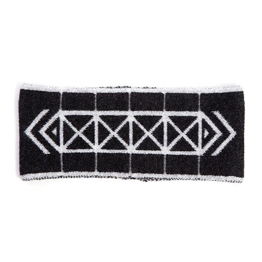 Brompton X Vespertine REFLECTIVE HEADBAND, Charcoal Black