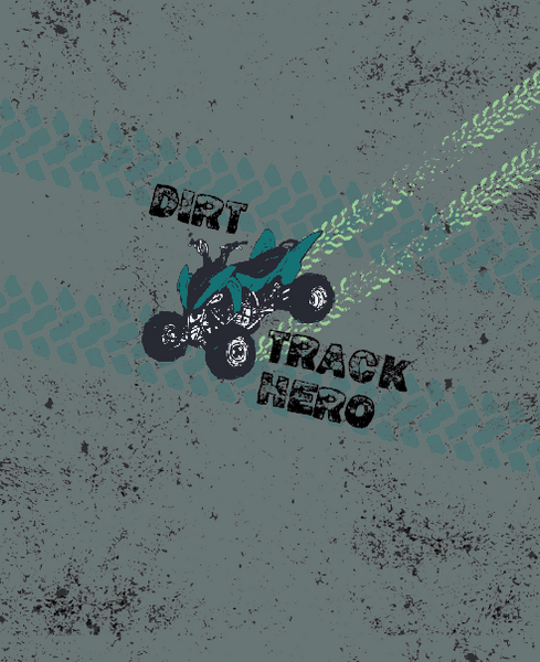 Dirt Track Hero-PANELS (graphics approx 6.75 x 6.75)