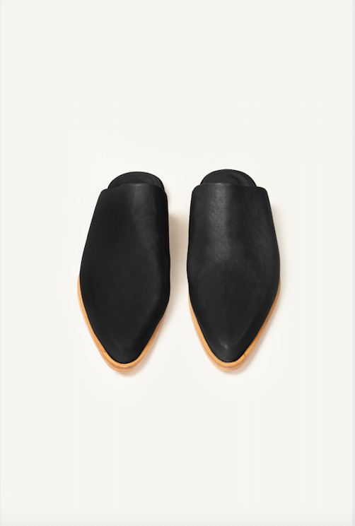 NEW IN: Leather Charro Mules