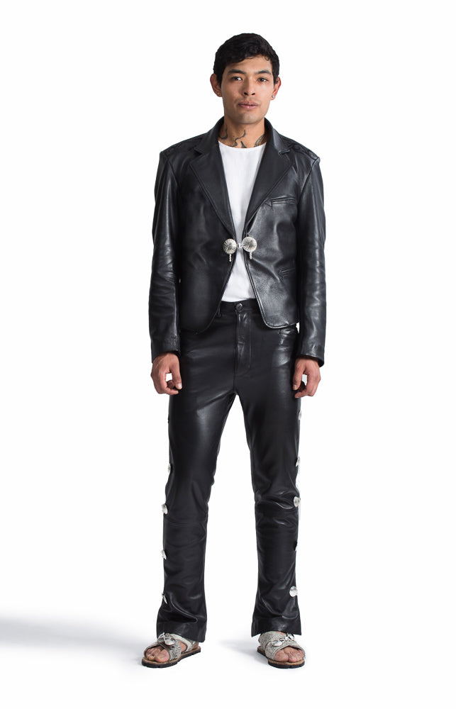 Leather Jacket: Charro Cut