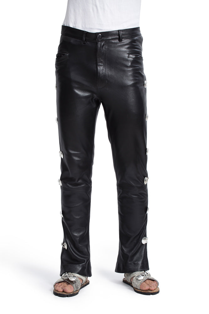 Chilango: Charro Leather Pants
