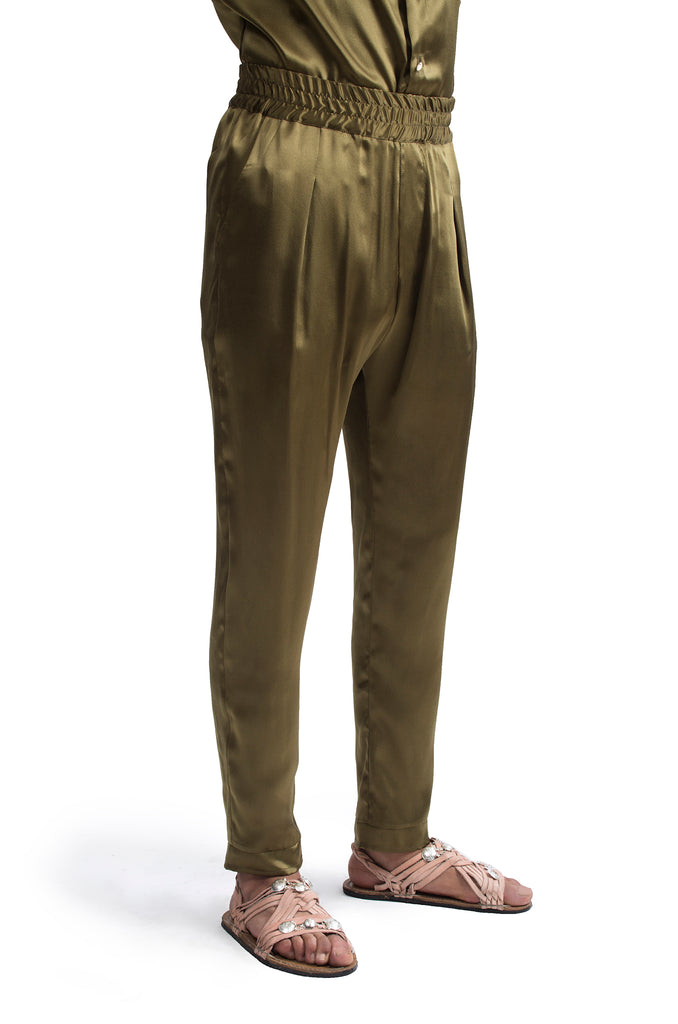 Al Tiro: Silk Pants