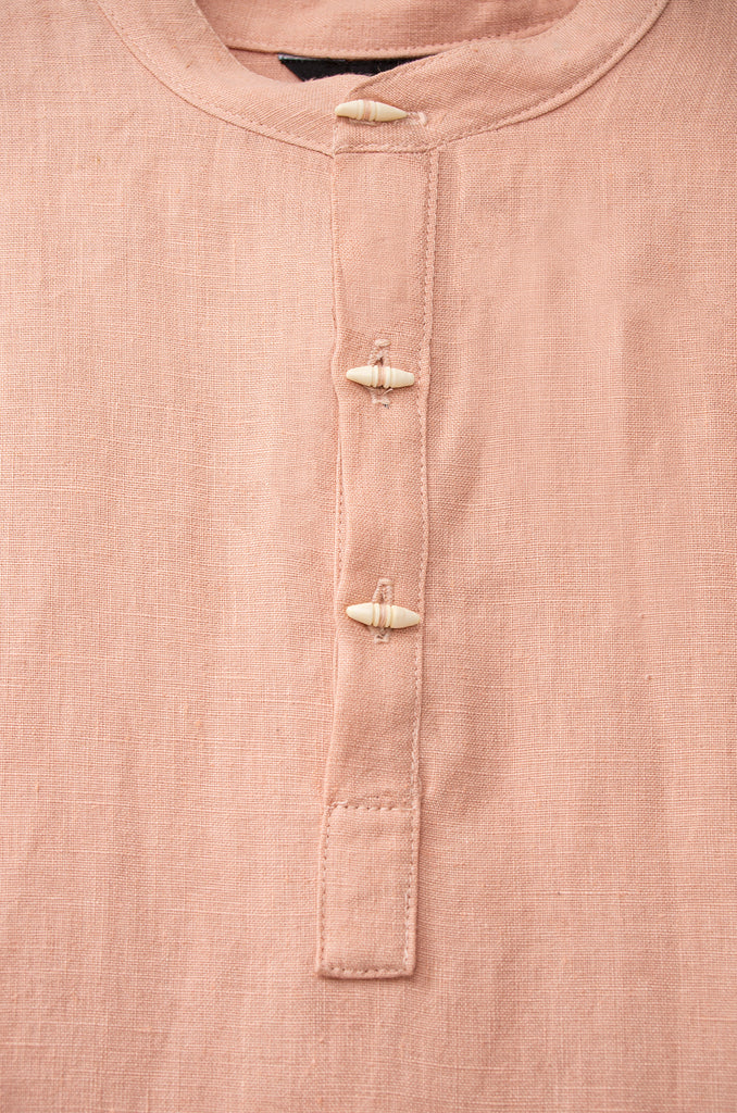 Jale: Short Sleeve Linen Shirt
