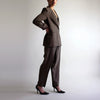 Vintage 90s Oversized All Seasons 100% Silk Suit - Sz 8/10