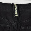 Vintage 90s High Rise Black Button Fly Jeans - W28