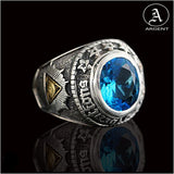 BAGUE BLUE POWER - Attitude punk shop
