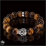 BRACELET PEARL AND SKULL HERMISTON - Attitude punk shop