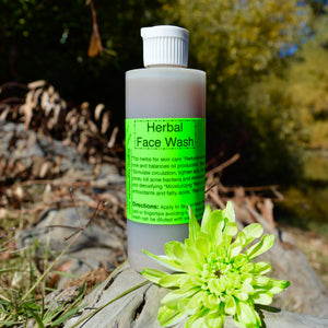 Herbal Face Wash- 4 Oz
