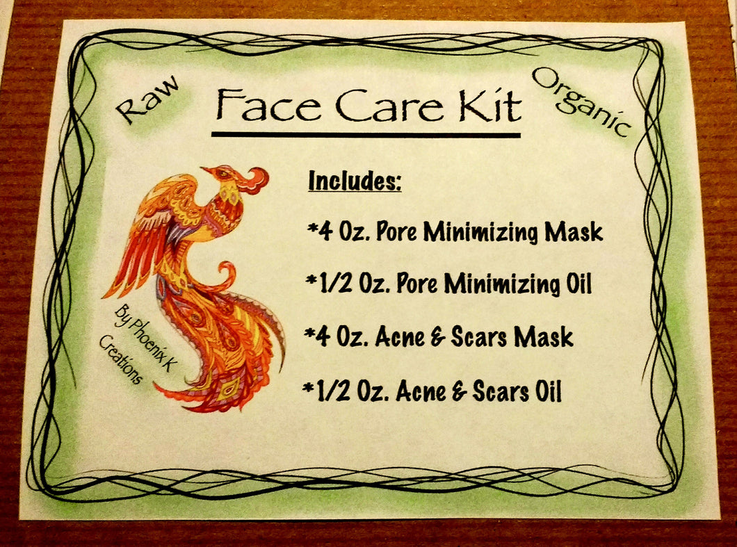 Face Care Kit- Three Versions available