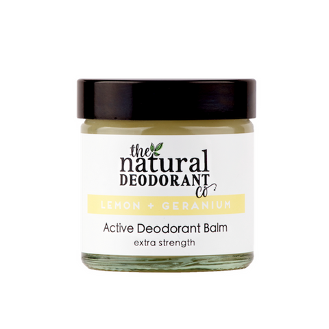Lemon & Geranium - Active Deodorant Balm 60ml